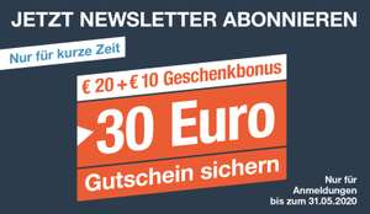FÜR UNS SHOP 30€ Rabatt ab 50€ MBW