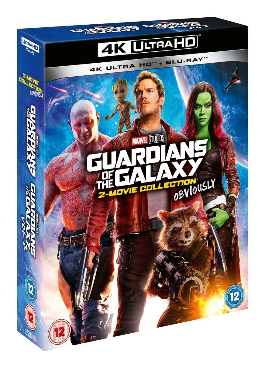 Guardians of the Galaxy: 2-Movie Collection (4K Blu-ray + Blu-ray) für 32,85€ inkl. Versand