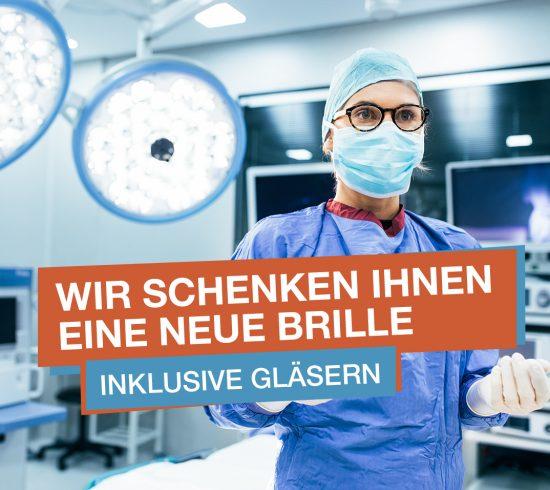 Pro Optik - kostenlose Brille für Ärzte und Pflegepersonal (bis 15.05.2020)