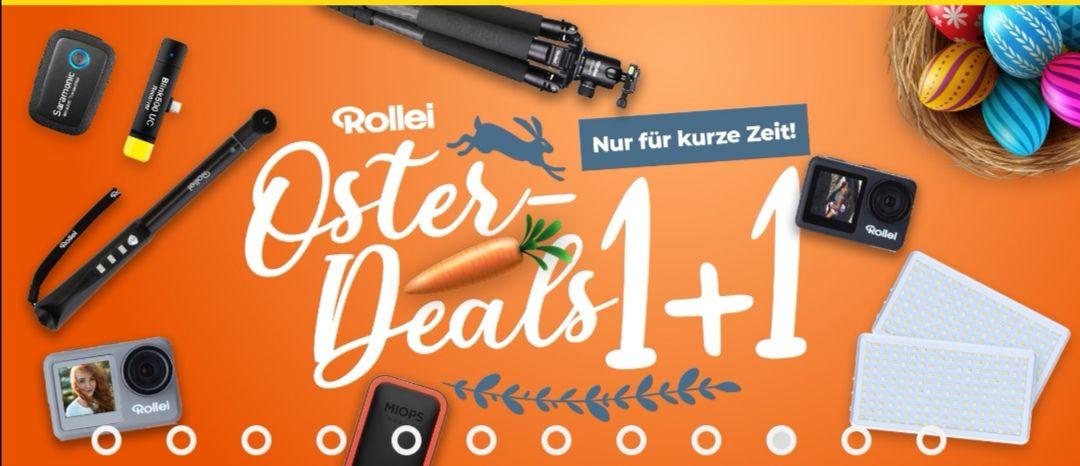 1+1 Deal für Rollei Rock Solid Alpha Mark II Stativ & andere Rollei Produkte