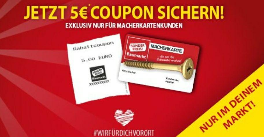 5€ Einkaufsgutschein ab 35€ Einkaufswert