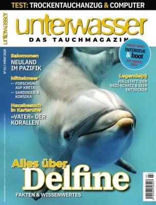 Unterwasser Magazin Abo (6 Ausgaben) für 43,80 € mit 45 € Amazon-Gutschein