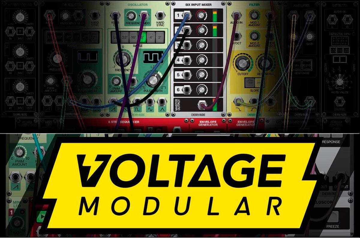 Kostenlos bis 30.04.: Synthesizer Cherry Audio Voltage Nucleus AU, VST, AAX