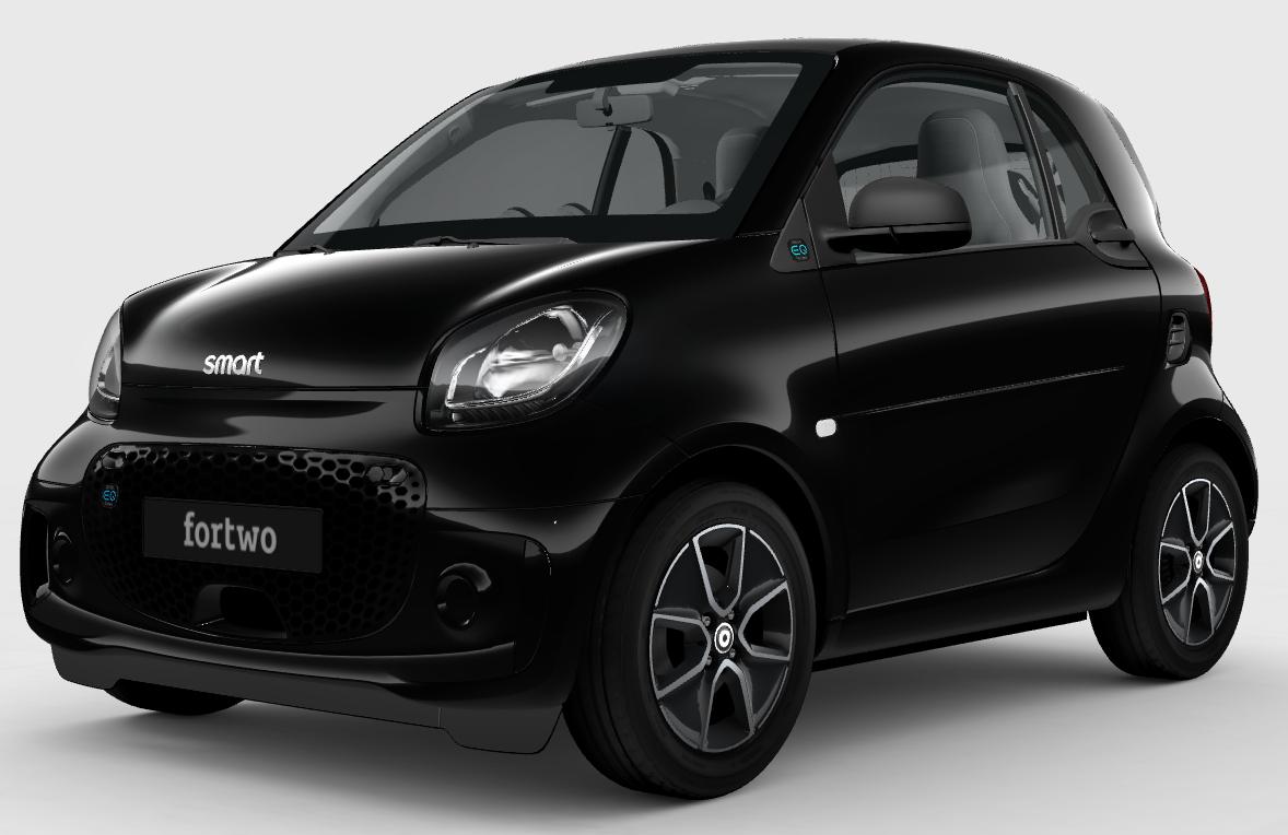 [Privat- & Gewerbeleasing] Elektroauto - smart EQ fortwo passion Coupe für mtl. € 99,- (brutto), 24 Monate, 10.000 km, LF 0,38 / GLF 0,48