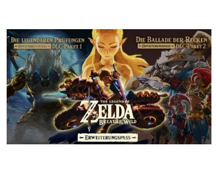 The Legend of Zelda: Breath of the Wild - Expansion Pass (Switch) für 13,99€ (eShop)
