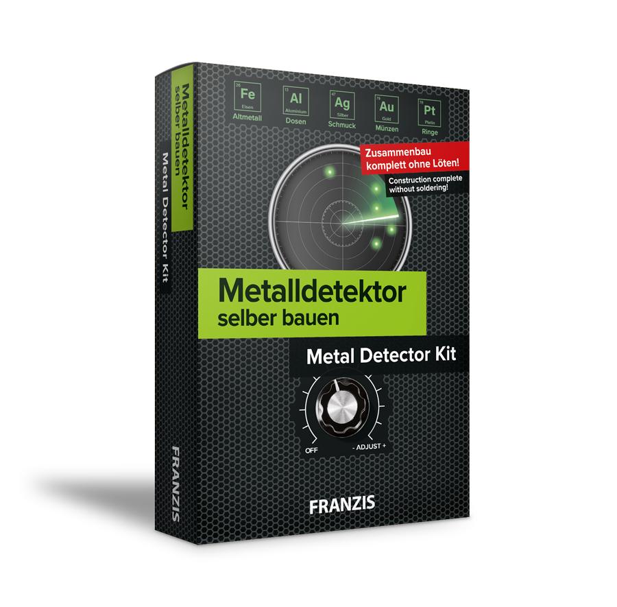 Franzis: Metalldetektor selber bauen - Metal Detector Kit