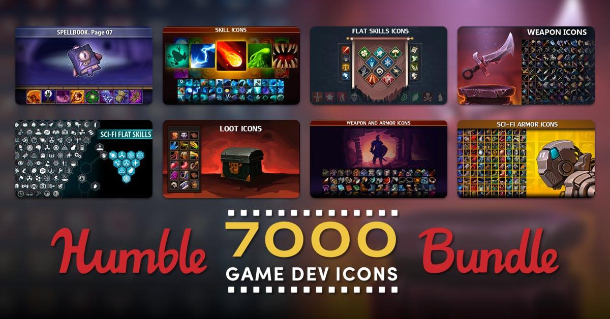 [HumbleBundle] Spiele-Icons Bundle