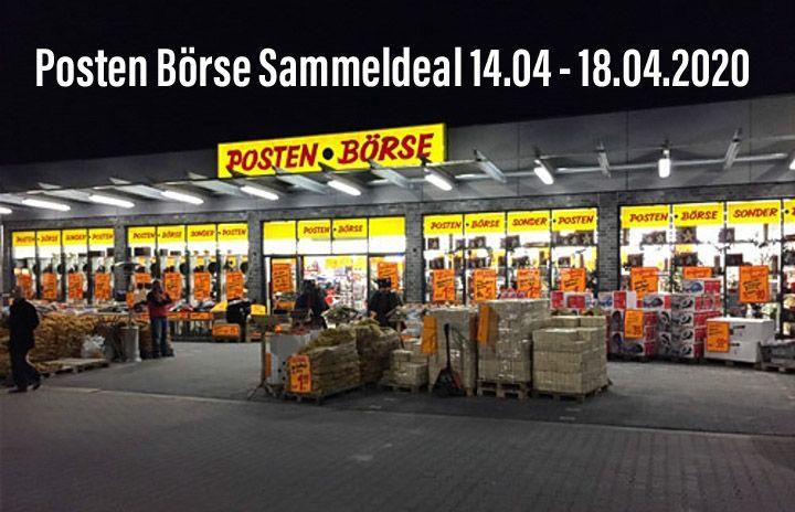 [Lokal Posten Börse] Sammeldeal 14.04 - 18.04.2020