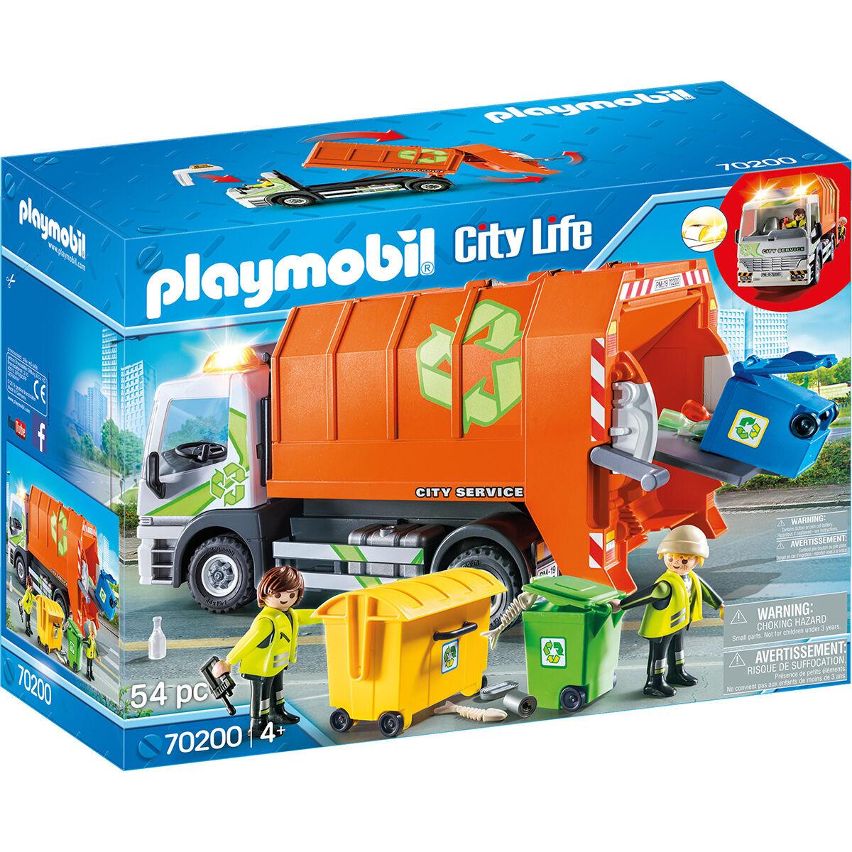 Playmobil City Life - Müllfahrzeug 70200 bei Galeria und Amazon