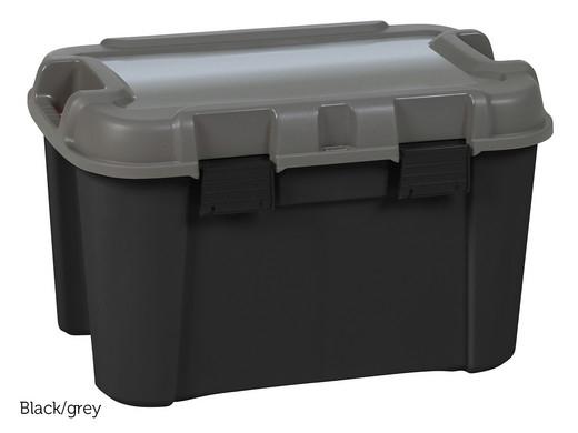 """4x Keter Aufbewahrungsbox """"Totem"""" (60 Liter, 60 x 40 x 37 cm, Stapelbar) [iBOOD]"""