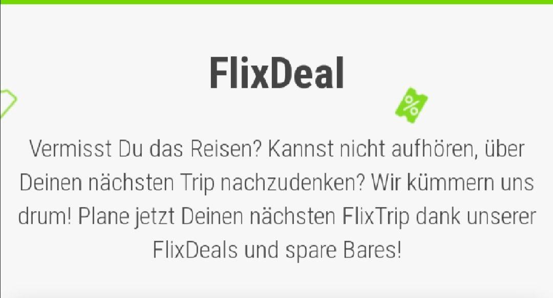 FlixBus/Train Wertgutschein für eine beliebige Fahrt innerhalb Europas (3 Jahre gültig) Umstieg möglich