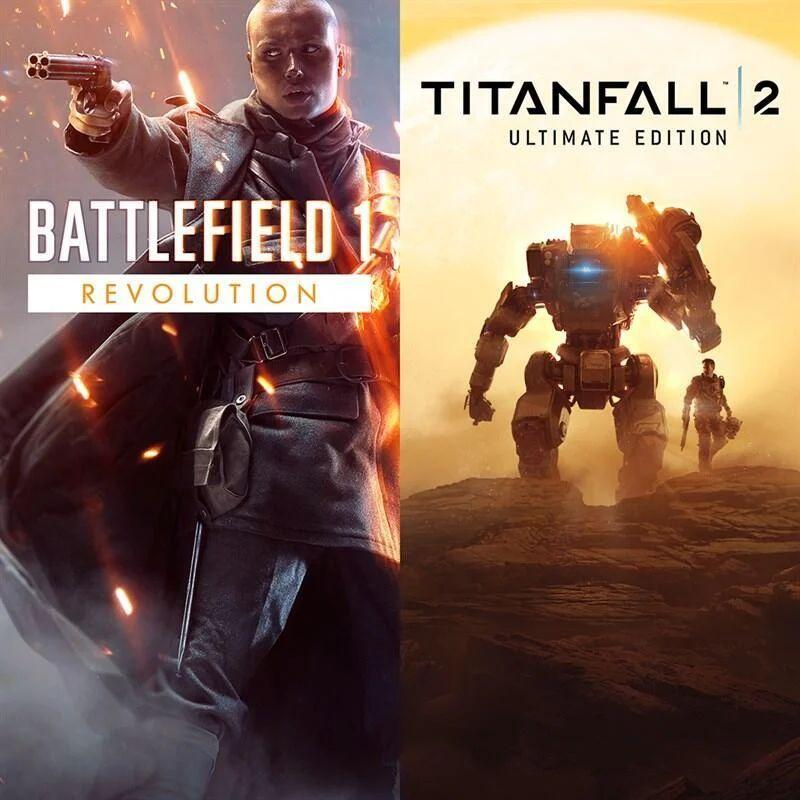 Battlefield 1 Revolution + Titanfall 2 Ultimate Bundle (Origin Store) für 11.99€ (Origin) 10.95€ (Amazon US)