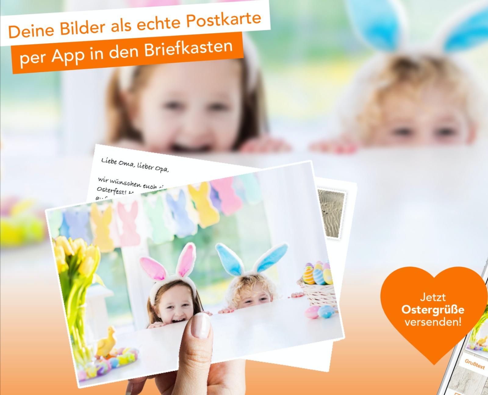 Für 0,99€ Postkarte mit eigenen Fotos versenden [Postando App Android & iOS]