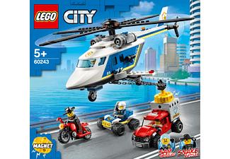 LEGO Verfolgungsjagd mit dem Polizeihubschrauber Bausatz