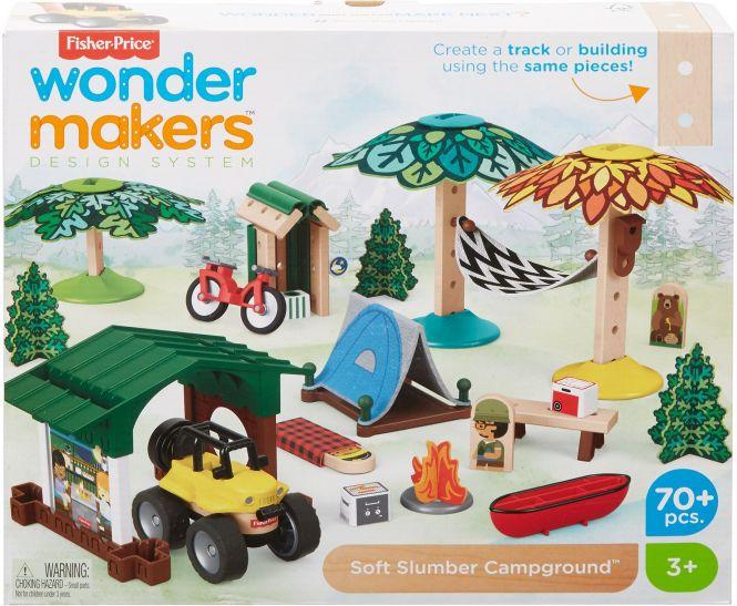 ( Amazon Prime ) Fisher-Price GFJ12 - Wunder Werker Holzspielzeug Recycling Center Spielset aus FSC zertifiziertem Holz, ab 3 Jahren