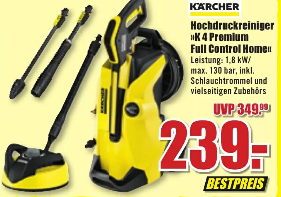 [B1 Baumarkt Filialen] Kärcher K4 Premium Full Control Home