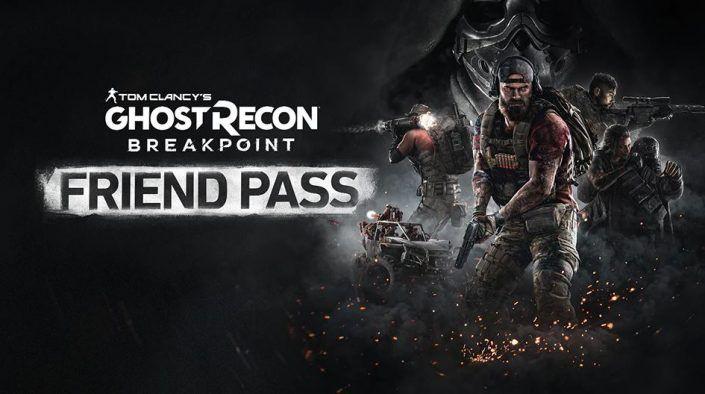 Ghost Recon Breakpoint - Friend Pass - Kostenloser Koop als Spielbesitzer mit bis zu 3 Freunden