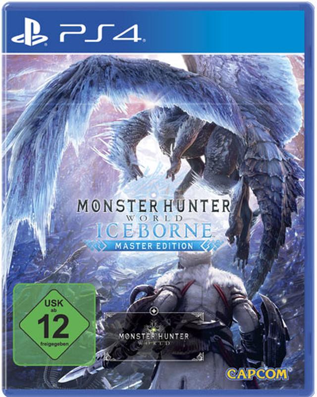 Monster Hunter World: Iceborne Master Edition inkl. Steelbook (PS4) für 30€ versandkostenfrei (Saturn)