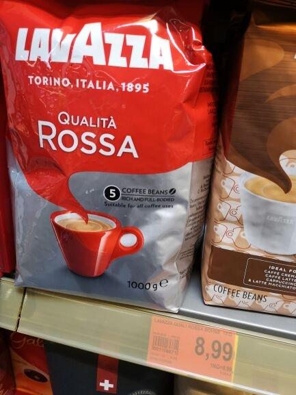 (Lokal Unna-Königsborn) Lavazza Qualita Rossa
