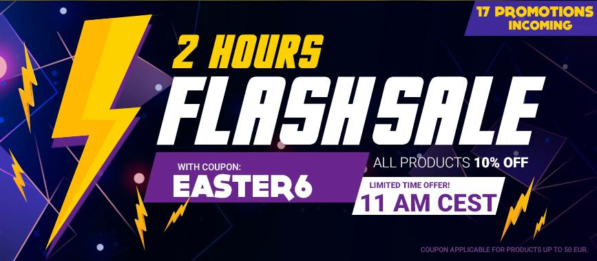 Flashsale bei Gamivo 10% für 2 Stunden, 50€ PSN für 40,38€ inkl. PayPal