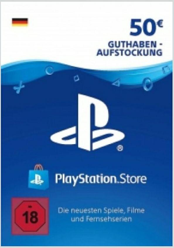 Playstation Store DE Guthaben 50,00 EUR für 43,51 EUR