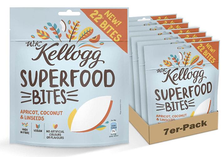 [lokal] Jawoll Märkte: 7x W. K. Kellogg SUPERFOOD BITES