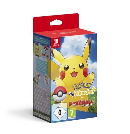 Pokémon: Let's Go Pikachu + Pokéball || Let´s Go Evoli Pokéball für 81,95€