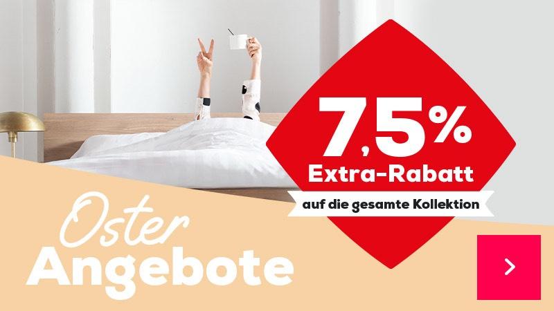 7.5% Rabatt auf alle Boxspringbetten von Swiss Sense / z.B. Home Season ab 1.535€ statt 1.660€