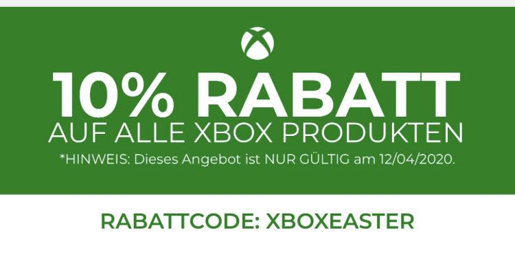 -10% Rabatt auf alle Produkte von XBox bei StartSelect.com