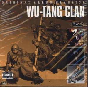 Wu-Tang Clan Original Album Classics (3CDs - Enter the Wu-Tang - 36 Chambers / The W / Iron Flag Explicit Content) für 8,16€ (Thalia Club)