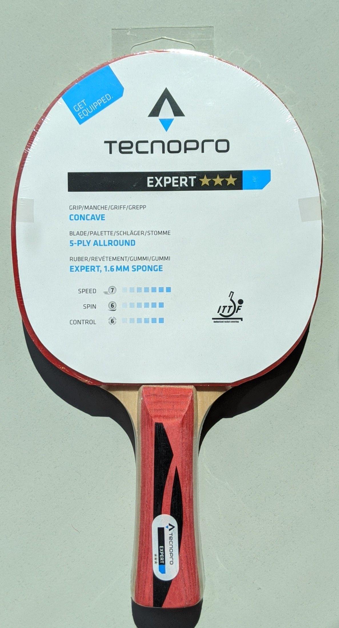 Tischtennisschläger TECNOpro Expert - 3*