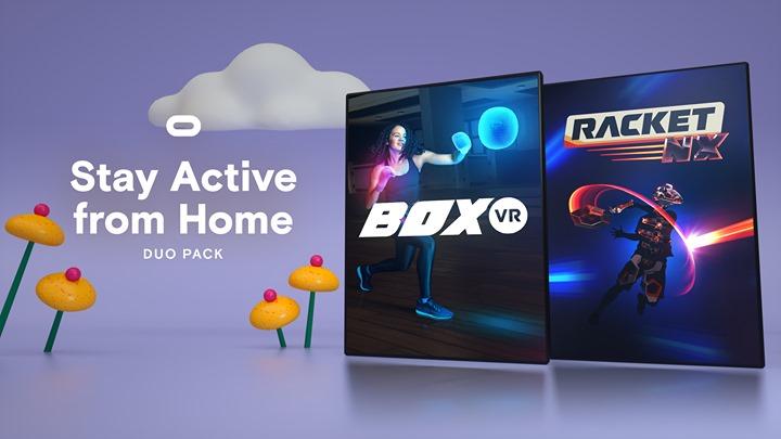 Oculus Quest: RacketNX und BoxVR im Bundle
