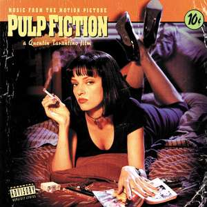 Pulp Fiction Back-To-Black-Serie (Vinyl LP) für 9,59€ (Amazon Prime & Media Markt)