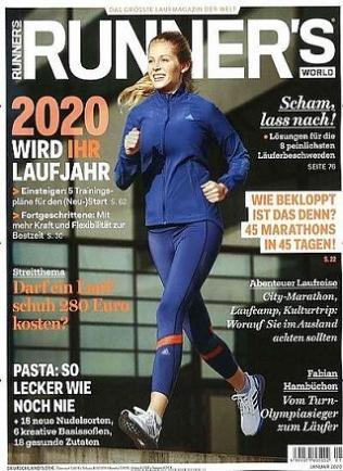 Runner's World Abo (12 Ausgaben) für 59,80 € mit 30 € BestChoice-Gutschein/ 35 € Otto-Gutschein (Kein Werber nötig)