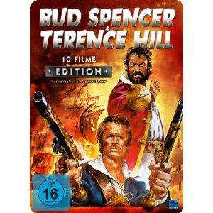 Bud Spencer & Terence Hill 10 Filme Edition (4 DVDs in Metallbox) für 22,94 € inkl. Versand vorbestellen (VÖ: 21.01.2013)