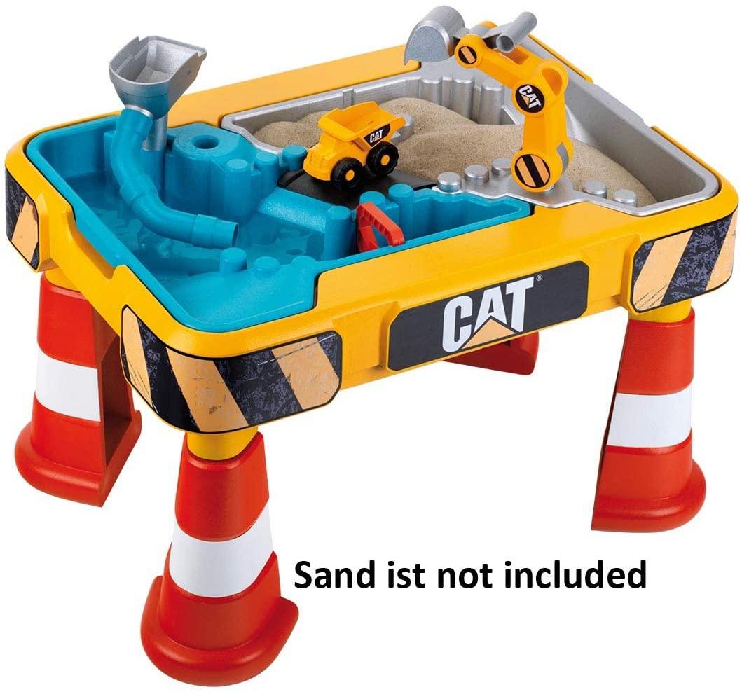 Theo Klein 3237 CAT Sand- und Wasser Spieltisch, Multicolor