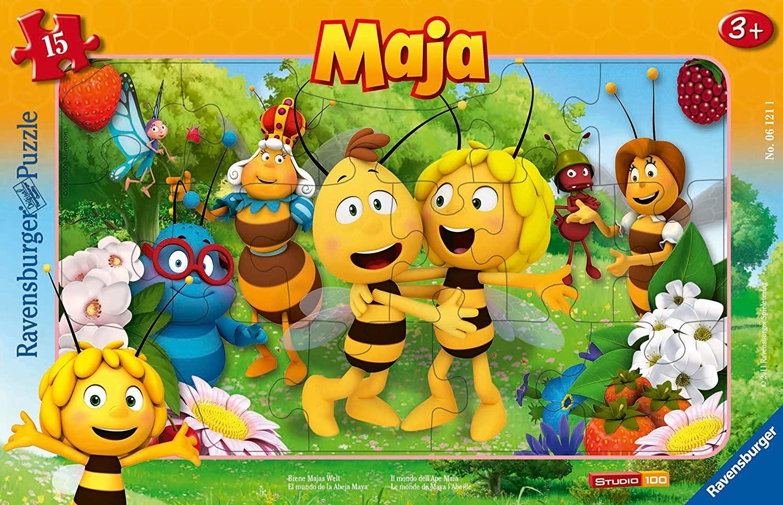 Ravensburger Biene Majas Welt Rahmenpuzzle für 3,09€ (Thalia Club)