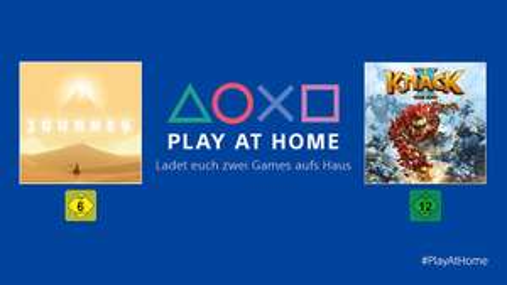 Sony verschenkt Journey und Knack 2 an alle PlayStation 4 Spieler (USA/UK Accounts erhalten Uncharted Collection)