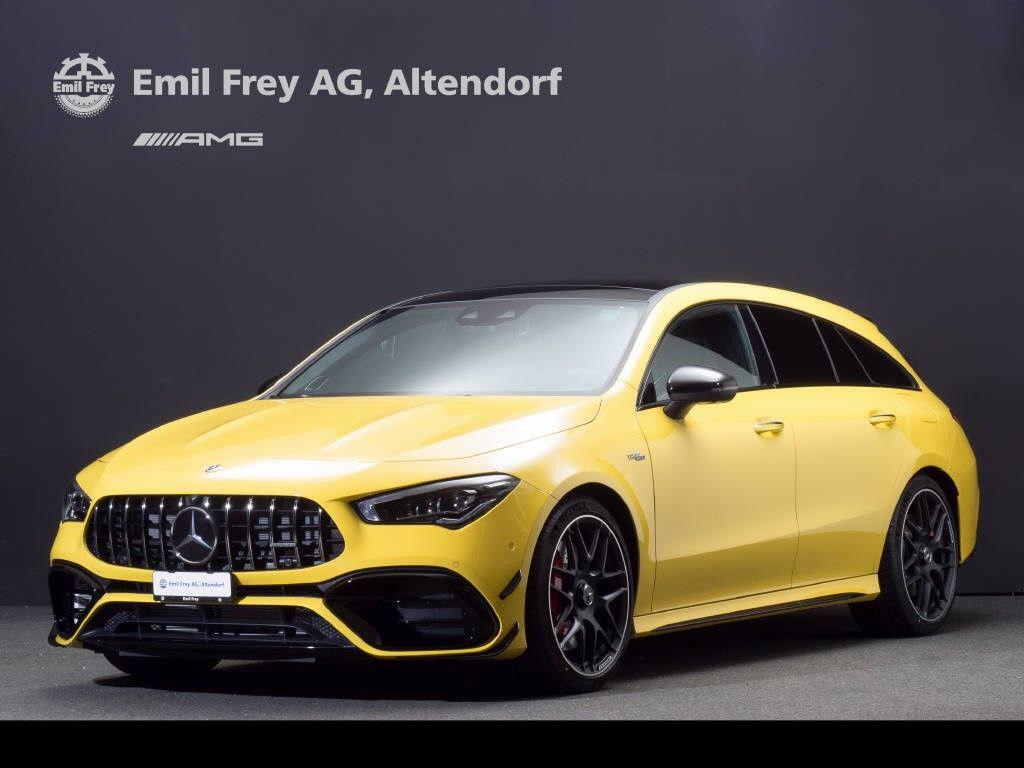 [Gewerbeleasing] Mercedes AMG CLA 45S 4-Matic Shooting Brake, 459€ Netto/Monat, LF 0,63, BLP 86.001€
