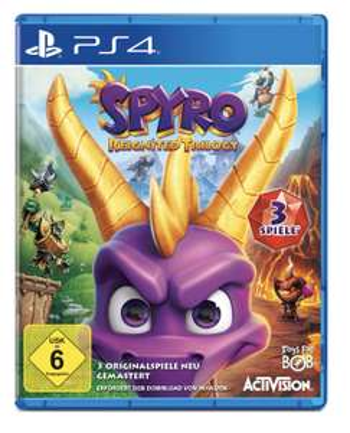 Spyro Reignited Trilogy [ PS4 ]