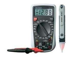 Digital-Multimeter VC130 inkl. berührungsloser Spannungsprüfer MS-400