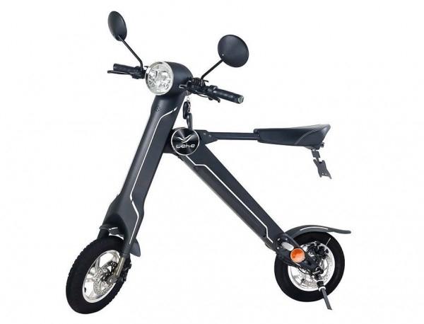 Lehe K1 Plus E-Roller (30km/h, Wechselakku, Straßenzulassung)
