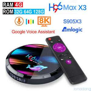H96 Max X3 Smart Android 9.0 TV