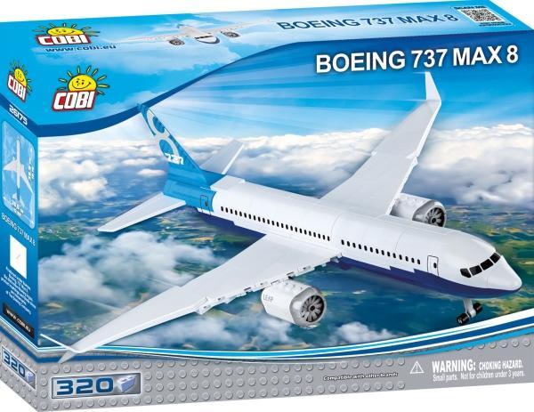 Cobi Boeing 737 MAX 8 Passagierflugzeug Bausatz für 17,19€ (Thalia Club)