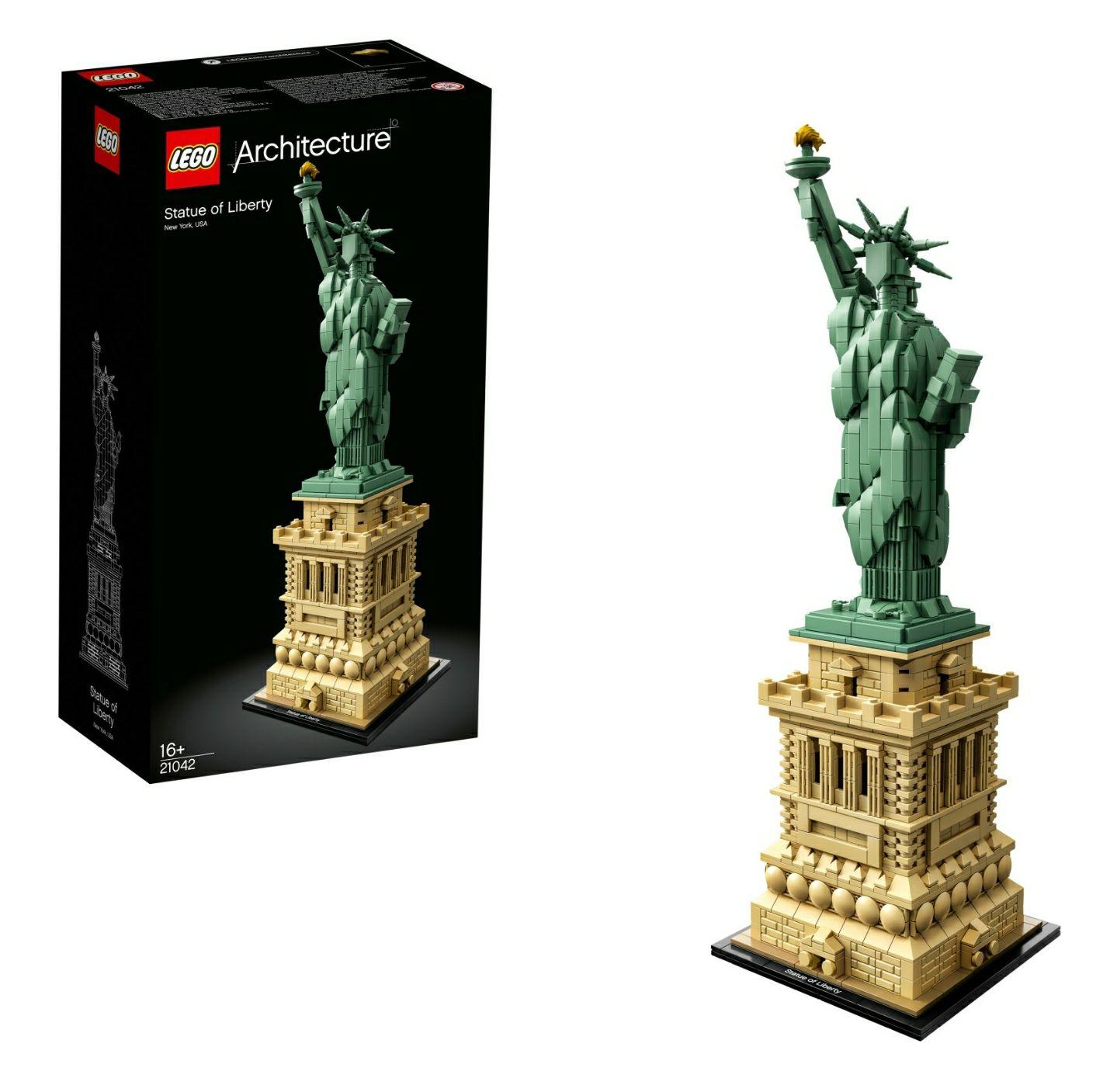 LEGO Architecture -Freiheitsstatue (21042) für 64€ [Real Online]