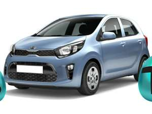 Kia Picanto Attract Auto-Abo € 199,– mtl. Rate