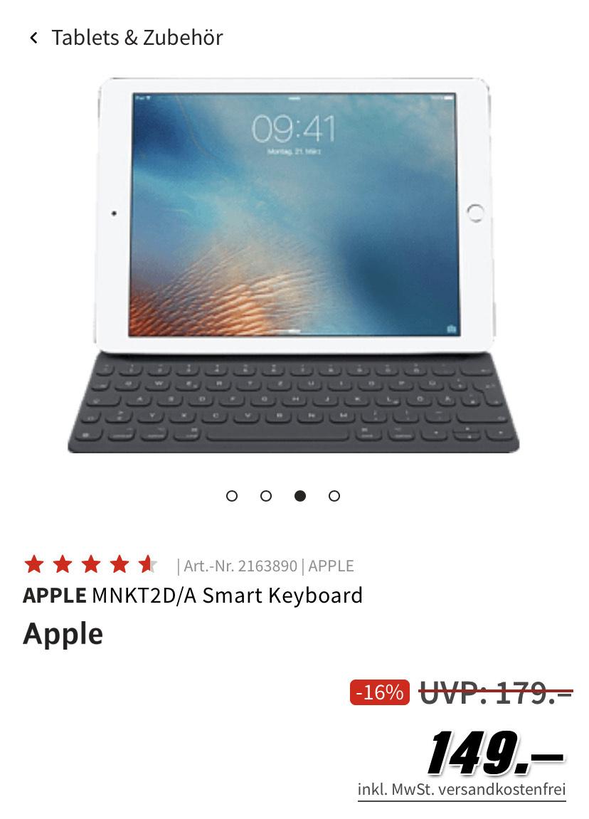 Apple Smart Keyboard iPad Pro 12,9'