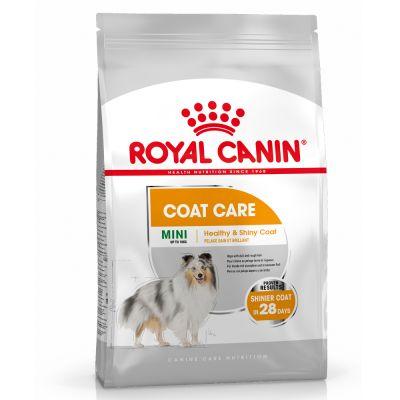 2x 8kg Royal Canin Mini Coat Care (Alleinfutter für kleine, ausgewachsene Hunde von 1-10kg)