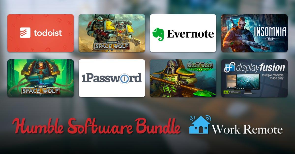 [HumbleBundle] 3 Monate Evernote Premium (Neukunden), 1 Jahr Parallells Access u. Adventure Game King of Dragon Pass für 1€ + weiteres