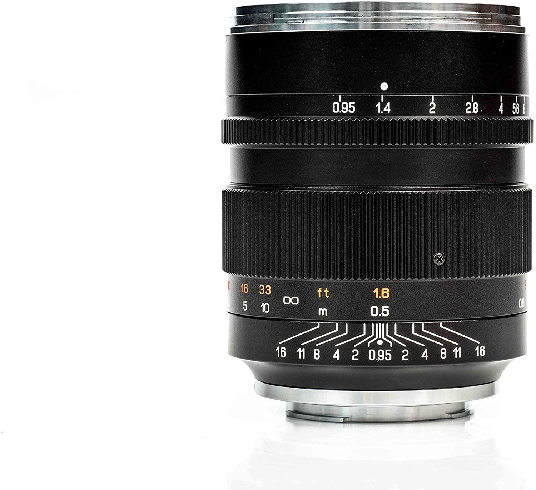Zhongyi Mitakon Speedmaster 50 mm f/0, 95 Mark III Objektiv für Canon RF Amazon.de
